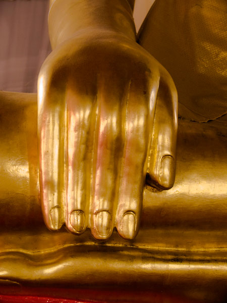 Crying Buddha, Bangkok, Thailand, 2006