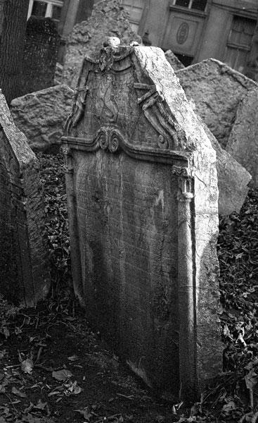 Jewish Cemetery, Prague, CZ, 1988